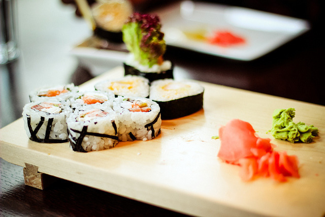 ilikeasianfood:  sushi by ivars vivars on Flickr.