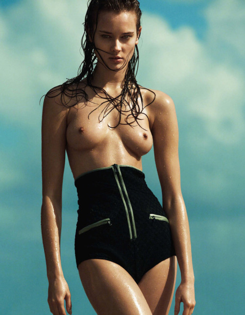 "stormtrooperfashion:  Monika Jac Jagaciak in ""Sommer"" by Greg Kadel for Vogue Germany, June 2013 See more from this set here."