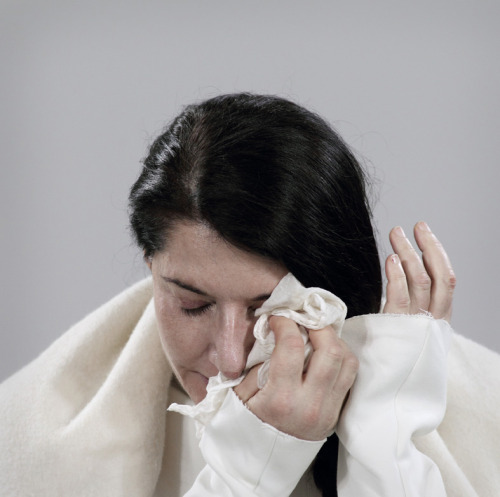 hnnhmcgrth:  Day 55, Marina Abramović (by MoMA The Museum of Modern Art)