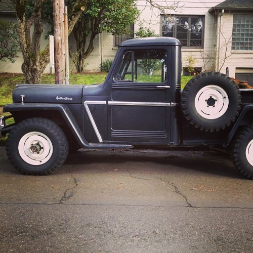 #willy #jeep #truck #pdx #nepdx #hollywood #willy-overland