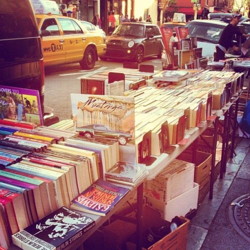 observedofallobservers:  The vendors got me #brooklyn #books #latergram (at Brooklyn)