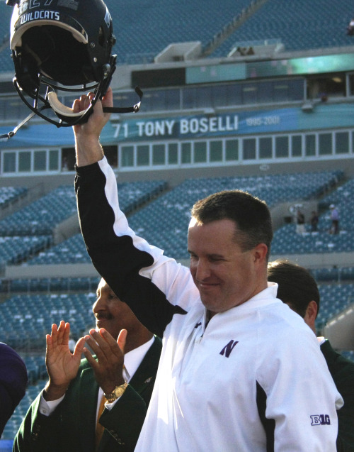 Celebrate Northwestern's historic Gator Bowl victory Friday at 4 p.m. in the Louis Room at Norris. You can snap a photo with the Gator Bowl trophy, too! More info