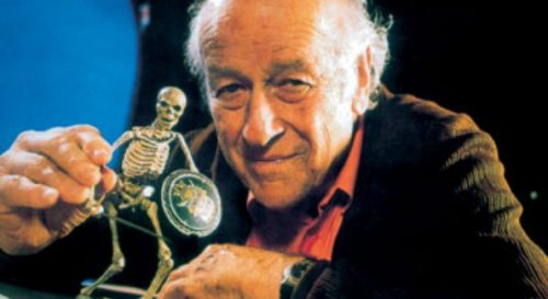 The stop-motion maestro Ray Harryhausen died today at age 92. R.I.P., sir.