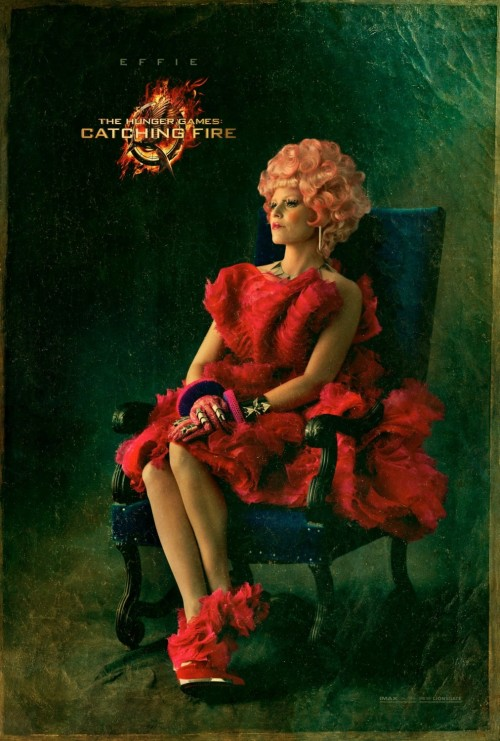 New poster for The Hunger Games: Catching Fire.