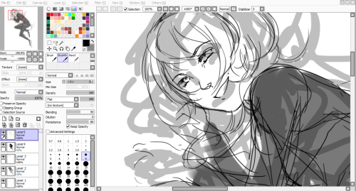maybe im done drawing for today > >;; I closed my other sketch and started drawing lux but now she looks more like my oc caitlyn and idk if i should keep making it lux or just go through with cait