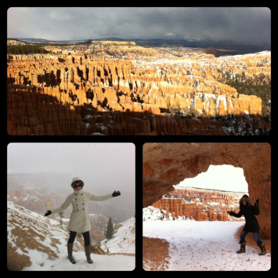 Bryce Canyon National Park this afternoon :-)
