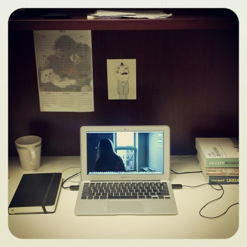 mydeskatwork:  Brooke; Post Doc; Toronto, Canada