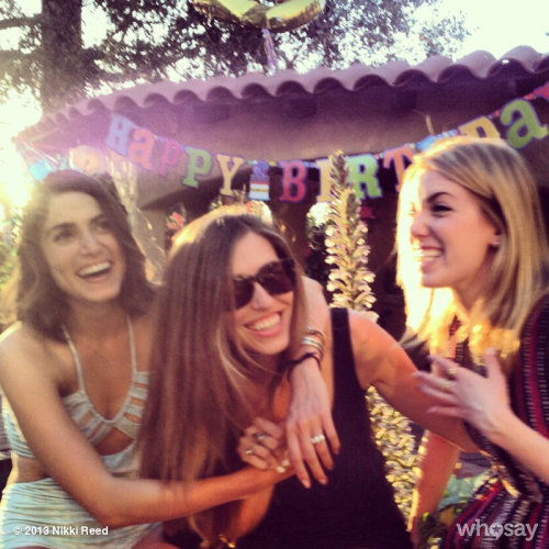 Did someone make a funny? @LindseyDupuis  #bdaygiggles View more Nikki Reed on WhoSay