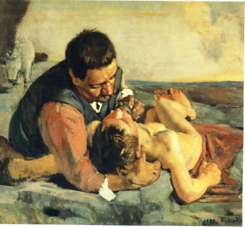 Ferdinad Hodler The Good Samaritan