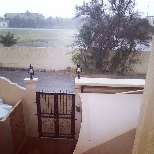 Holy mother of hail ! #qatar  (at Al-Mamoura)