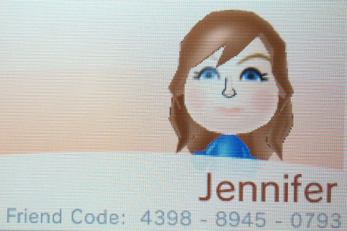 animalcrossingcrazy:  Yeah, if you wanna add me, that's my 3DS friend code. ;)  ^^ yup