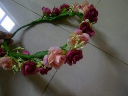 Single flowercrown handmade for sale. Only 52K