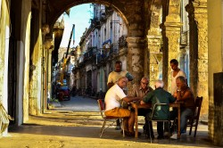 A scene from the streets of La Habana.  Click on the photo for a description of this scene. -Dr.