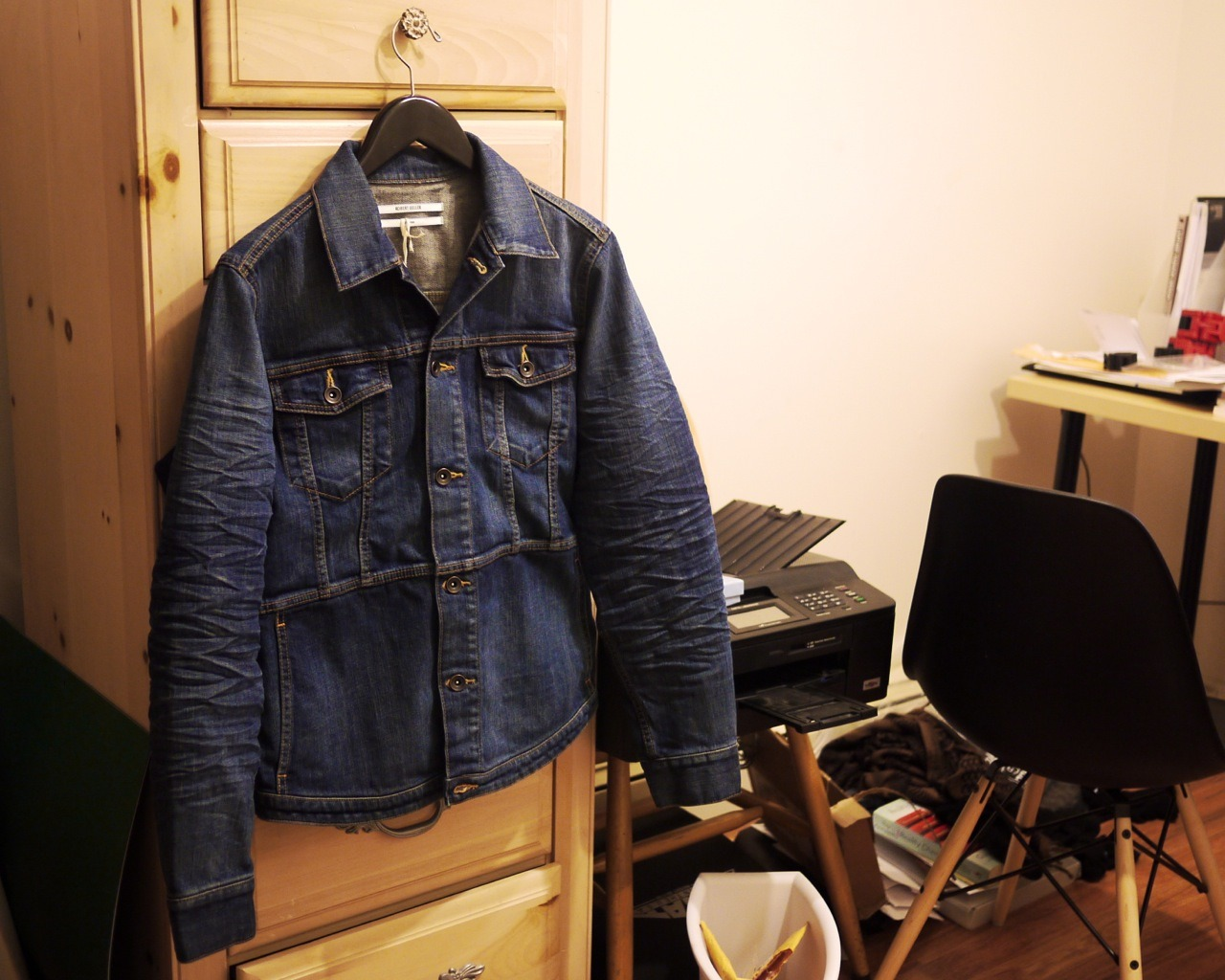 New Acquisition: Robert Geller S/S 13 Denim Jacket