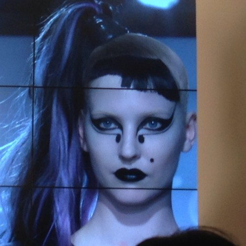 "Remember Lady Gaga's look on the ""Born This Way"" album cover? Yes, @thevalgarland was responsible for that look. #maccosmetics #masterclass #instamakeup #makeup #beauty"