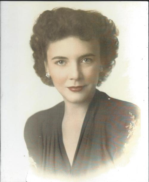 My great grandmother and namesake, Irene Vassar Wood. 1940ish age 33ish.