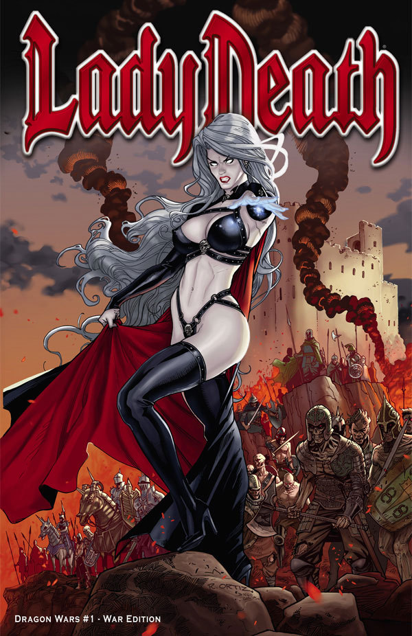 Lady Death: Dragon Wars #1 - War Edition
