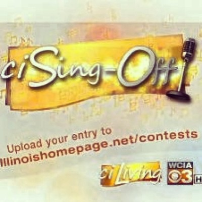 I am participating in a sing off for Central Illinois and I am trying to get to the finals. But in order to get to the finals I need your votes. You can vote by clicking the link above. Thanks!   http://illinoishomepage.upickem.net/engine/Votes.aspx?PageType=VOTING&contestid=89646#SubmissionDisplay