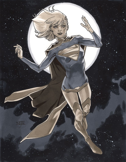 Supergirl III - London Super Comic Con 2013 Pre-Show Commission.
