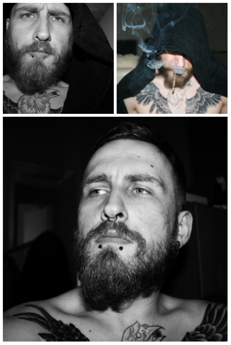 beardsftw:  smileytattoo:  Damn self shots are hard work to take seriously   [[ Follow BeardsFTW! ]]