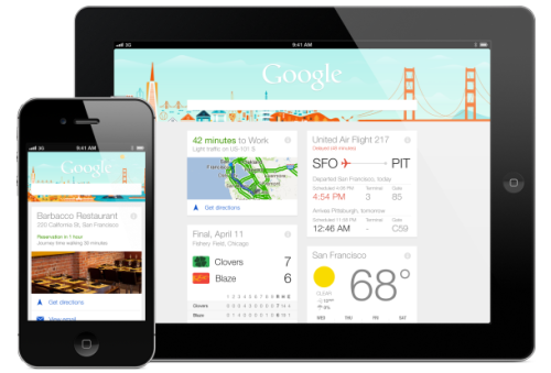 Google Now for iOS is available, uh, now
