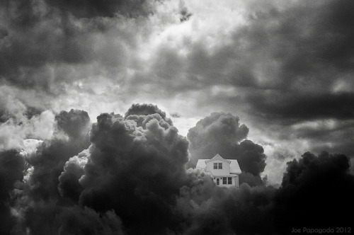 Home in the clouds on Flickr.