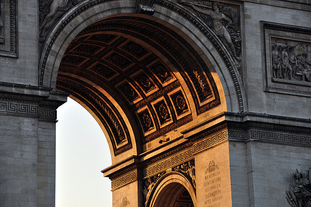 parisbeautiful:  gate of paradise by mirza peakovsky on Flickr.