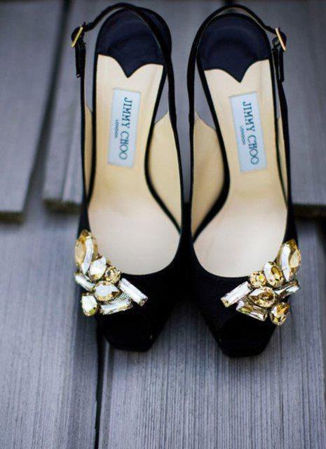 Jeweled Slingback Pumps by Jimmy Choo. Price: $675