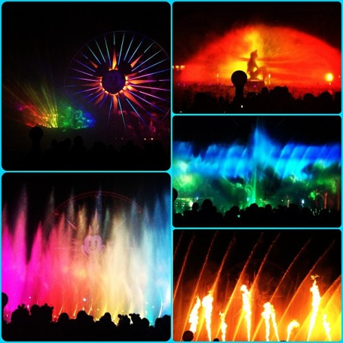 kaleidoscopeeeeyes:  World of Color! 😍 #fuckyes #beautiful #disneyland  (at Disney California Adventure Park)