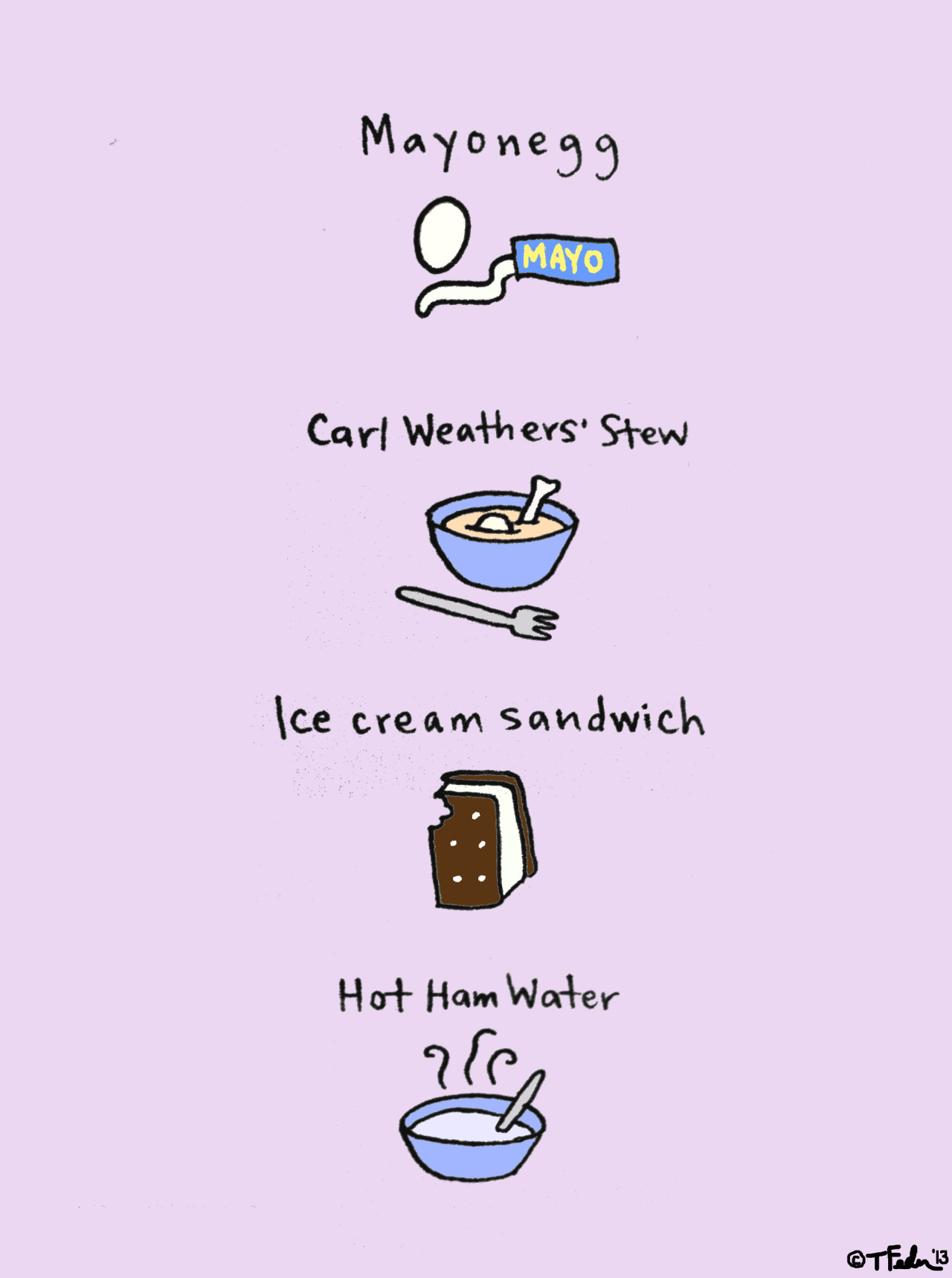 Some More Foods of Arrested Development (by Tyler Feder)