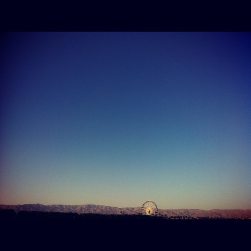 One more week in the desert. (at Stagecoach Festival)