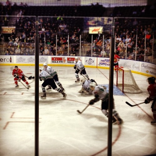 Thunderbirds game! (at Seattle Thunderbirds)