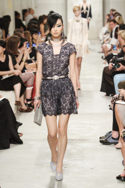 koreanmodel:    Kim Sung Hee at Chanel Resort 2014, Singapore.