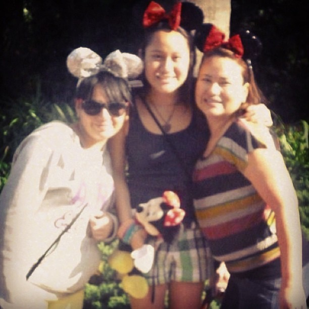 #disney #memories #remember #minnie #mom #sisther #me