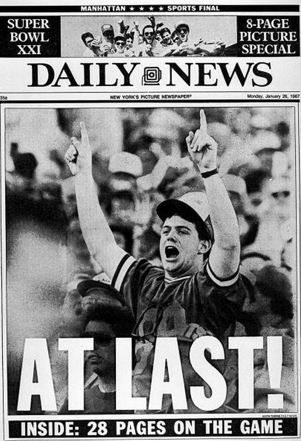 BACK IN THE DAY |1/25/87| NY Giants beat the Denver Broncos, 39-20 to win Superbowl XXI