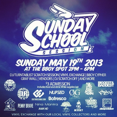 Heavily looking forward to this Sunday's School session at @thebboyspot . You will be surrounded by some of Orlando's best and brightest individuals. Culture exists here! #orlando (at The BBoy Spot)