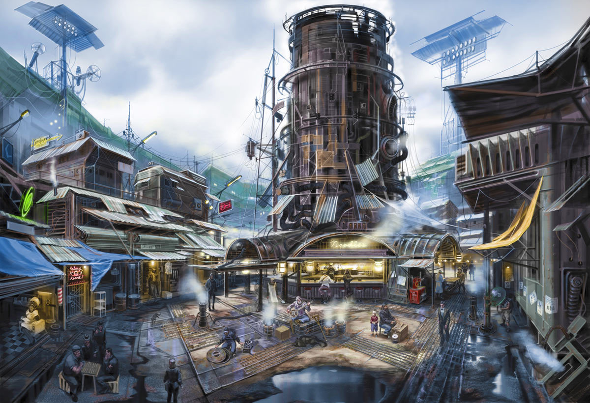 Fallout 4 diamond city seekrs for Best house design fallout 4