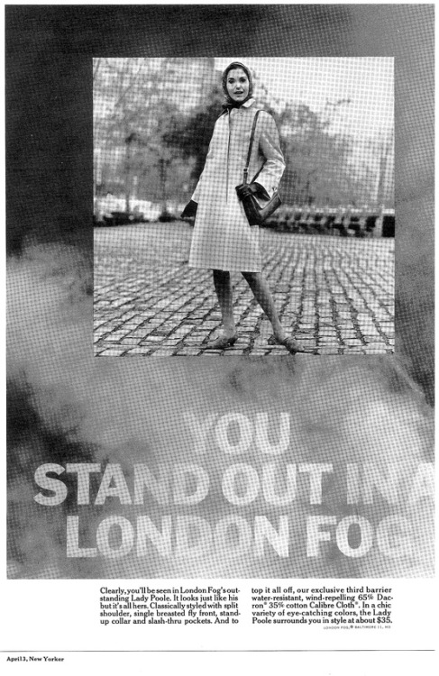 Throwback Thursday | Stand Out In A London Fog | New Yorker