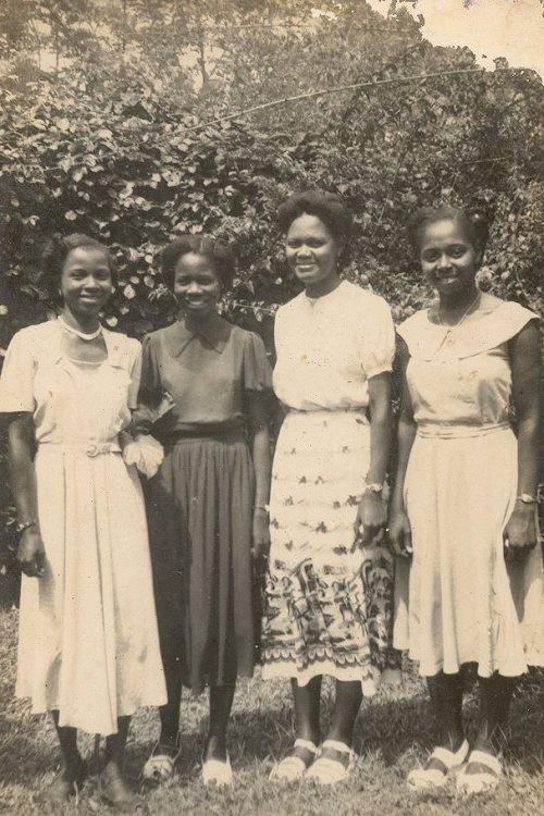 Female graduates of University college in Ibadan, Nigeria. 1953Vintage Nigeria