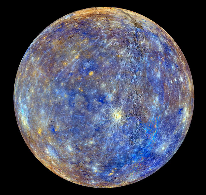 NASA has now mapped every single square inch of Mercury.