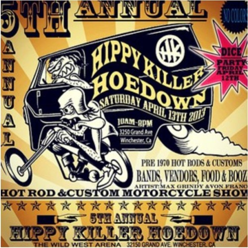 Hippy Killer Hoedown, y'all! @hippykillergarage #hippykillerhoedown #hippykiller