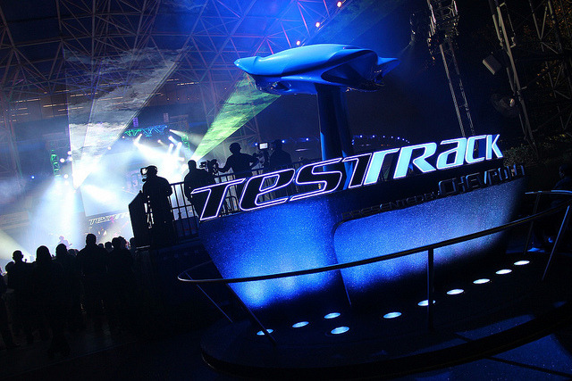 Test Track 2.0 grand opening at Epcot by insidethemagic on Flickr.