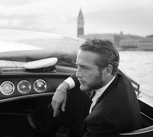the60sbazaar:  Paul Newman photographed in Venice (1963)