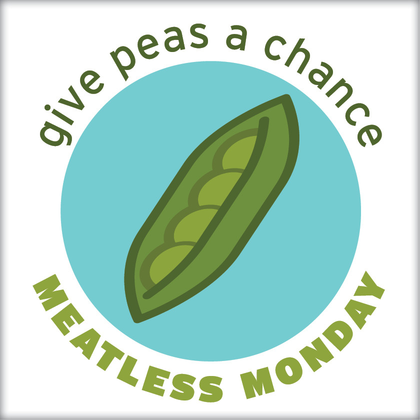 Tomorrow is Meatless Monday! Will you give peas a chance?