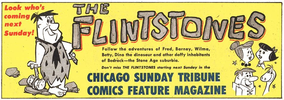 Flintstones, 1961 via