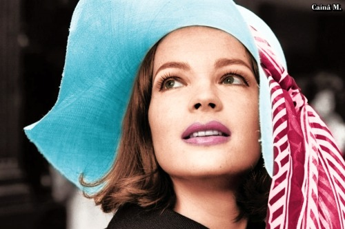 Romy Schneider in Color! ORIGINAL PHOTO (P&B)