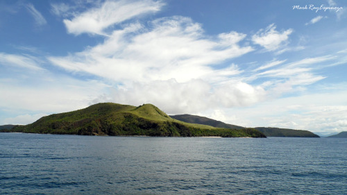 a photograph of one of the islands on our way to Siargao, Philippines