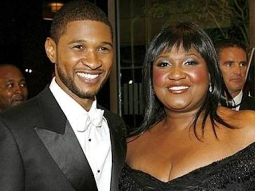 Usher Raymond and his Mama…. BEAUTIFULBLACKMEN.TUMBLR.COM