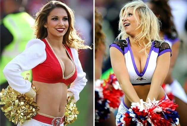 Meet the Cheerleaders of Super Bowl XLVII Men's Fitness - Sports, Fitness, Health, Nutrition, Style and Sex