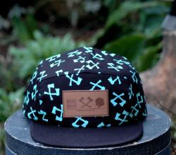 Merkwood 5 panel hat with axe printBUY YOURS HERE: www.merkwood.bigcartel.com